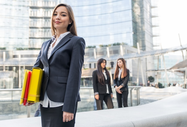 Kobiety biznesu w pracy