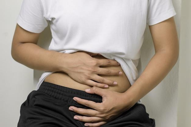 Kobiety mają ból brzucha