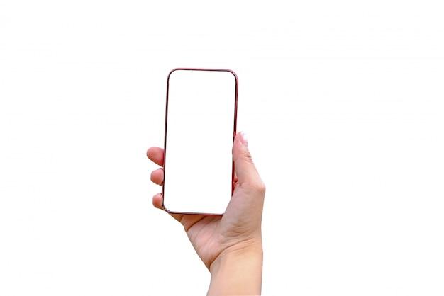 Kobiety trzymające smartfony