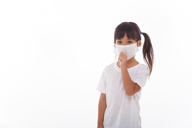 Kobiety z azji noszące maskę, aby zapobiec wirusowi