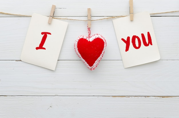 Kocham cię w tle