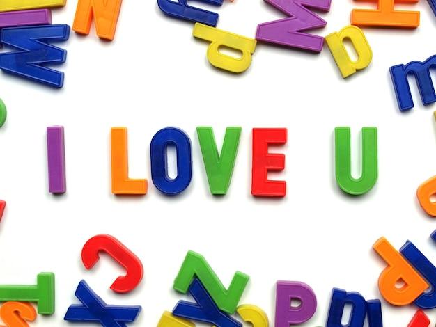 Kocham cię wiadomość