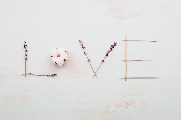 Kocham pisać z kwiatów