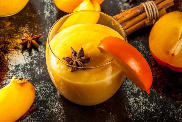 Koktajl owocowy persimmon