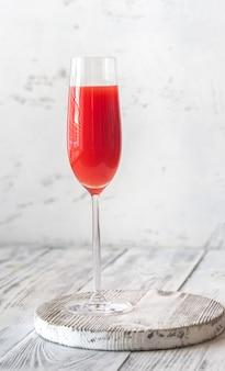 Koktajl szklanka mimozy