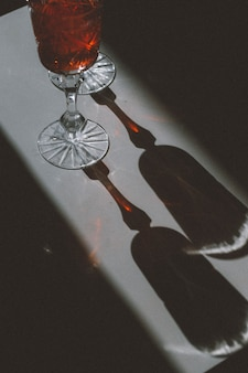 Koktajl w szklance