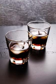 Koktajl whisky-cola