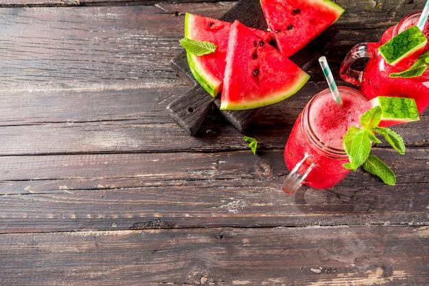 Koktajl z arbuza na zimne lato