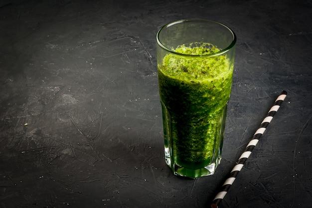 Koktajl z zielonych warzyw