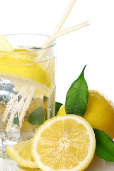 Koktajl ze świeżymi cytrynami