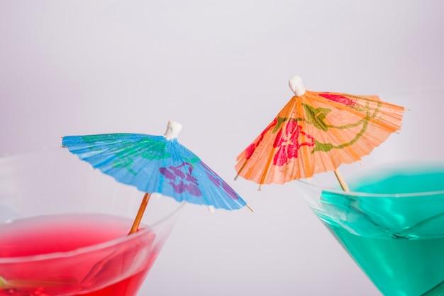 Koktajle z parasolami