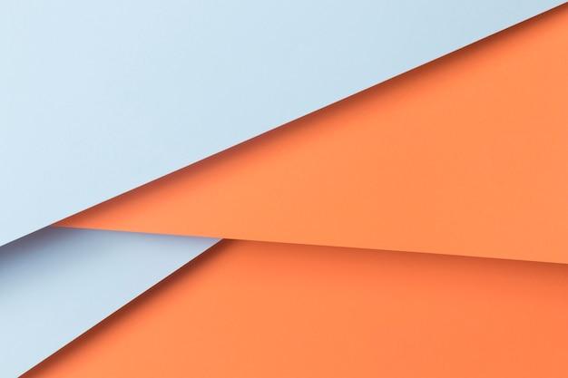 Kolekcja geometrycznych kształtów szafek