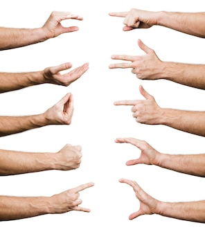 Kolekcja gestów dłoni