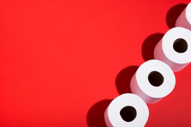 Kolekcja papieru toaletowego do kopiowania