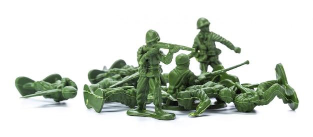 Kolekcja tradycyjnych żołnierzyków