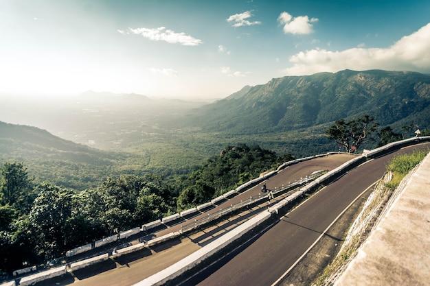 Kolli hills w tamil nadu w indiach