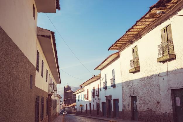 Kolonialne miasto cusco w peru