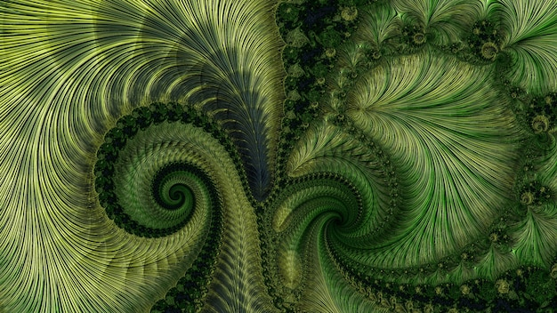Kolor niesamowity fraktal wzór kwiatu tła, różne kształty i kolory, elementy graficzne do projektowania i dekoracji. renderowania 3d