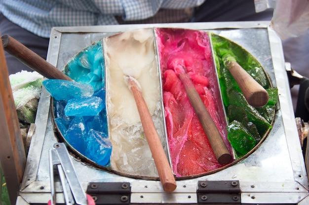 Kolor słodki cukier do składnika make rzeźba desser dla dziecka