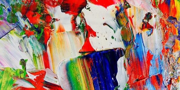 Kolor tekstury. ręcznie rysowane obraz olejny na płótnie