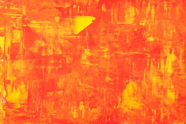 Kolor tła ognia, teksturowane abstrakcyjne malarstwo z mieszanymi kolorami tapety