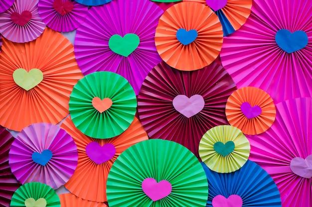 Kolor tła papieru, piękna tekstura, kolorowe tapety