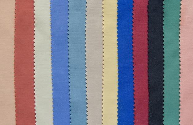 Kolor tonu tkaniny próbki tekstury tła