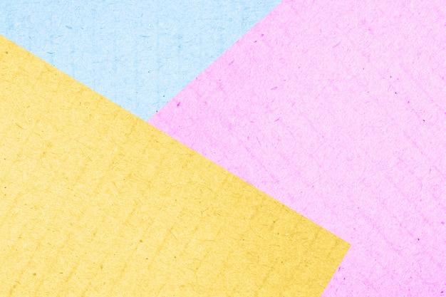 Kolorowa barwiona nawierzchniowa papierowego pudełka abstrakcjonistyczna tekstura dla tła, pastelowy kolor