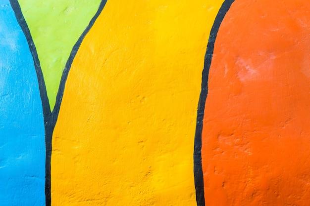 Kolorowa farba cementowa ściana lub kolorowe tło