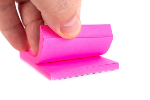 Kolorowa kartka pocztowa z ręką faceta, obiekt