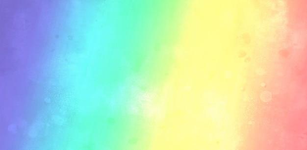 Kolorowa tęcza akwarela tekstury
