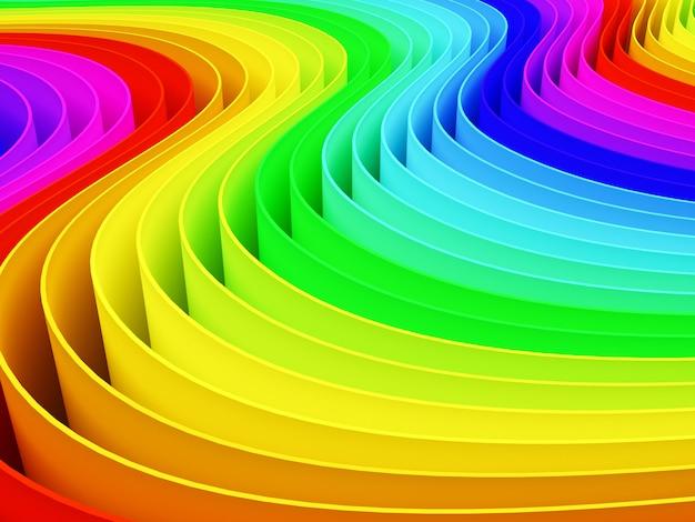 Kolorowa tęcza koloru tła