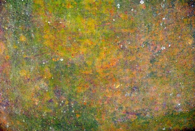 Kolorowa tekstura zardzewiałej blachy metalowej