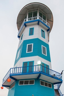 Kolorowa wieża