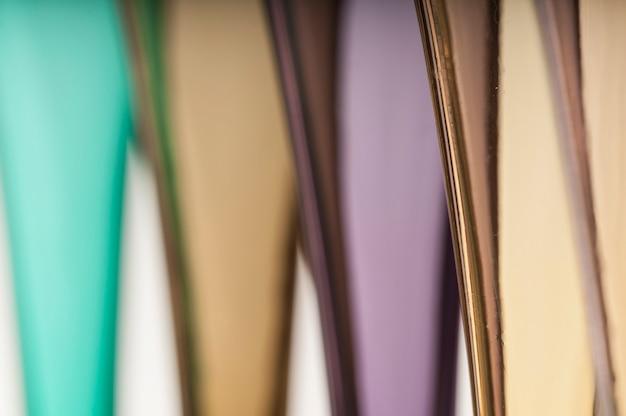 Kolorowe abstrakcyjne okulary