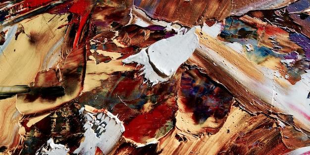 Kolorowe abstrakcyjne tło obraz olejny na płótnie