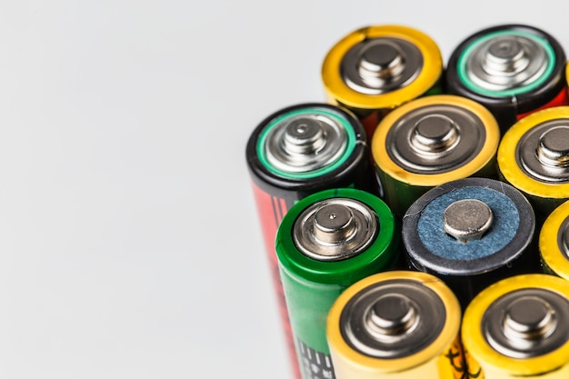 Kolorowe baterii