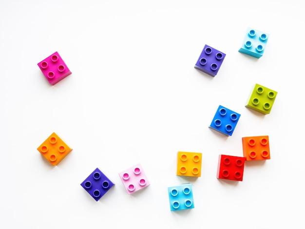 Kolorowe bloki konstruktora