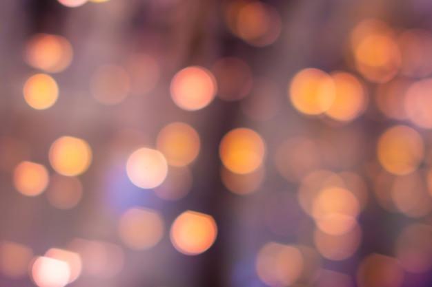 Kolorowe bokeh niewyraźne rozmazane światła. abstrakcyjne tło