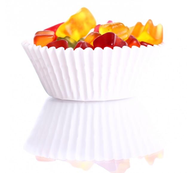 Kolorowe cukierki gumowatego misia