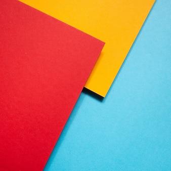 Kolorowe geometryczne kartony