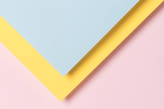 Kolorowe geometryczne szafki