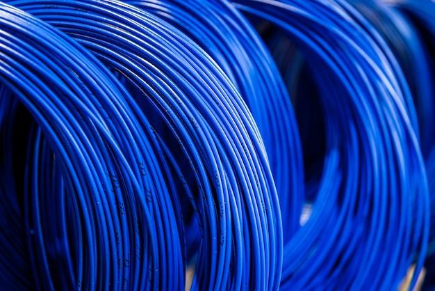 Kolorowe kable i przewody telekomunikacyjne
