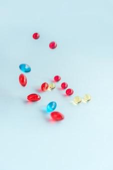 Kolorowe kapsułki