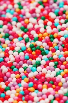 Kolorowe kulki tekstury na pełnym ekranie
