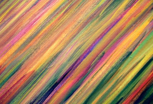 Kolorowe linie maluje abstrakcjonistycznego tło z teksturą.