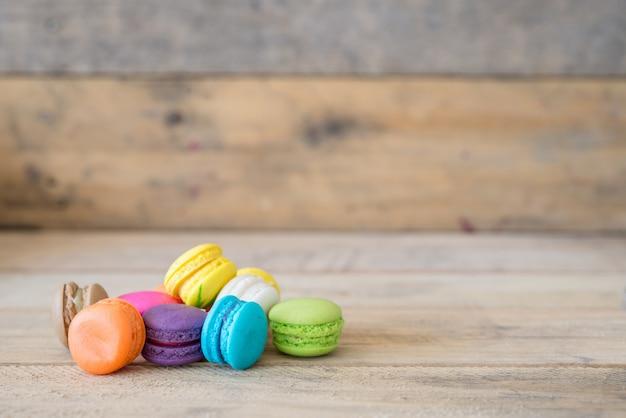 Kolorowe macarony