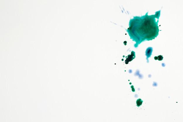 Kolorowe plamy artystyczne plam akwarelowych