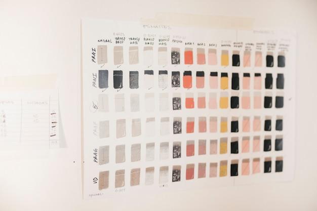 Kolorowe płytki ceramiczne oszklone na ścianie