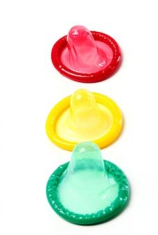 Kolorowe prezerwatywy